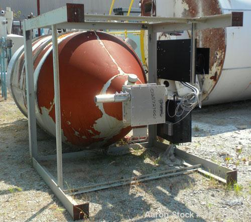 Used- Carbon Steel Conair Insulated Drying Hopper, Model CH64