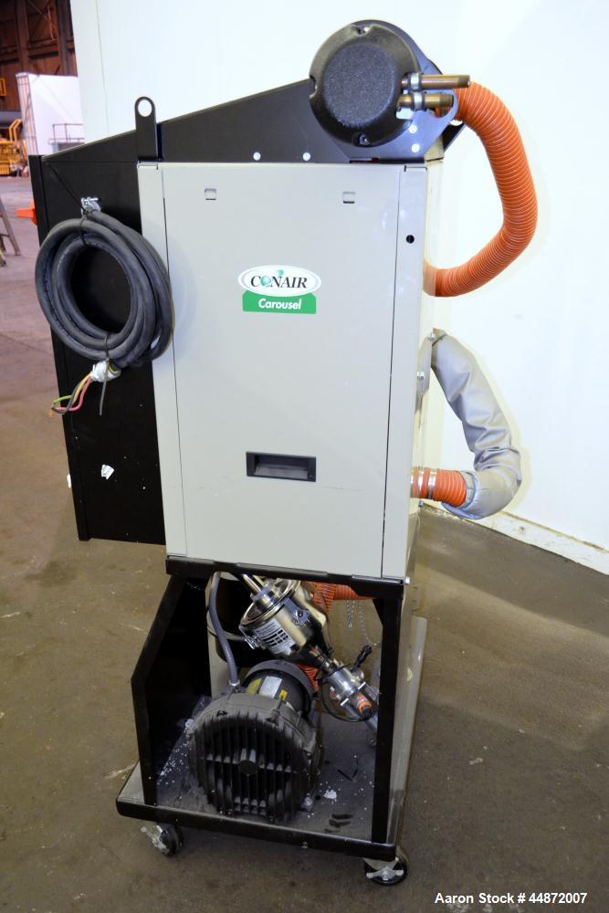 Used- Conair MDC Carousel Dehumidifying Dryer, ModelD15, Carbon Steel.  Approximatelt 15 cfm, drying temperature range 100-3...
