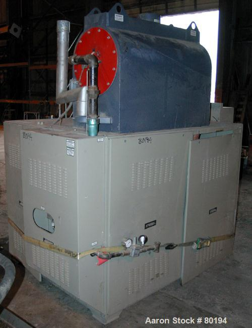 "USED: Conair gas fired air dryer, model HBG2000. 7-1/2"" diameter air delivery, Compu-Dry controls, 3/60/480 volt motor."