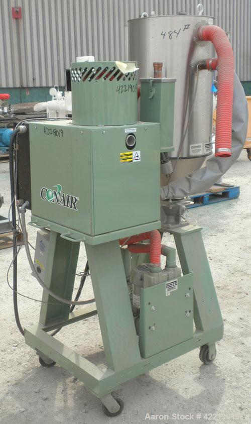 Used- Conair Small Carousel Dehumidifying Dryer, model SC7.5, carbon steel, 7.5 cfm. Drying temperature range 150-375 deg F....