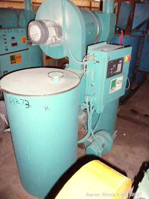 Used-Unadyn Dehumidifier Dryer, Model DHD-11. Dual desiccant beds, 350 process cfm, 3/60/230 volt, 106 amp, 42 kva.