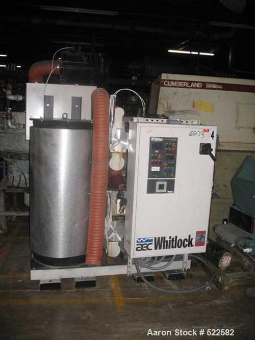 USED: Dri Air model APD-1 dryer. 230/3/60 operation, 20 peak amps, 18 cfm process air flow, microprocessor touch pad control...