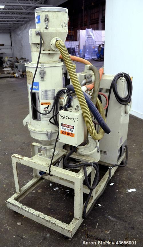Used- Matsui Dehumidifying Dryer, Model DMZ-40. Approximately 23 cfm. Includes a Matsui Jet Loader, model JL-4VCII, serial #...