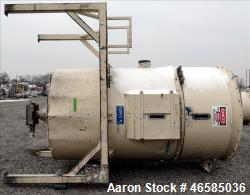 Used-Conair Drying Hopper. Approximate 8,000 Lbs. capacity. Insulated. Mounted on a carbon steel frame.