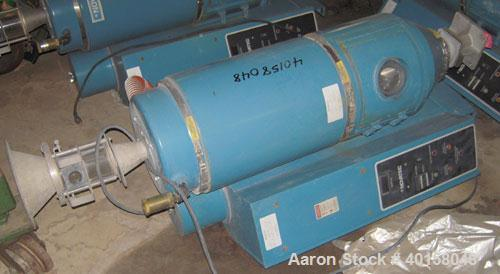 Used- Novatec Nova Drier Non-Desiccant Resin Dryer, Model N-25. Throughput capacity 25 pounds an hour, 5.7 scfm. Constant -4...