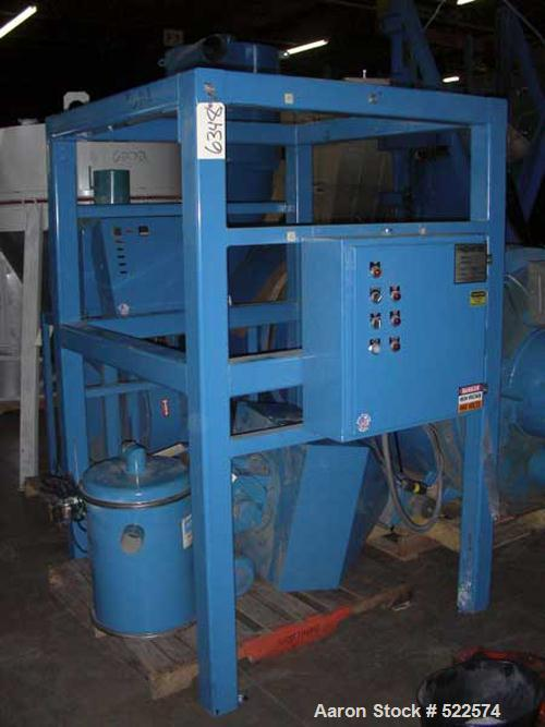 USED: Novatec model CCR-1000 crystallizer. 460/3/60, 4.4 kva, 5.6 amps1000 lb per hour capacity, model PHH-1000 heating unit...