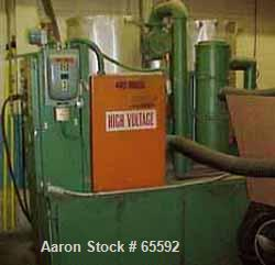 """USED: Process Control high temperature dryer, model DA595. 230/460volt, (2) 18"""" diameter x 40"""" drying hoppers, with silencer..."""