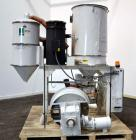 Used- Una-Dyn Closed Circuit Crystallizer, Model XTLR-600, Carbon Steel. Approximate through-put 600 pounds per hour. Includ...