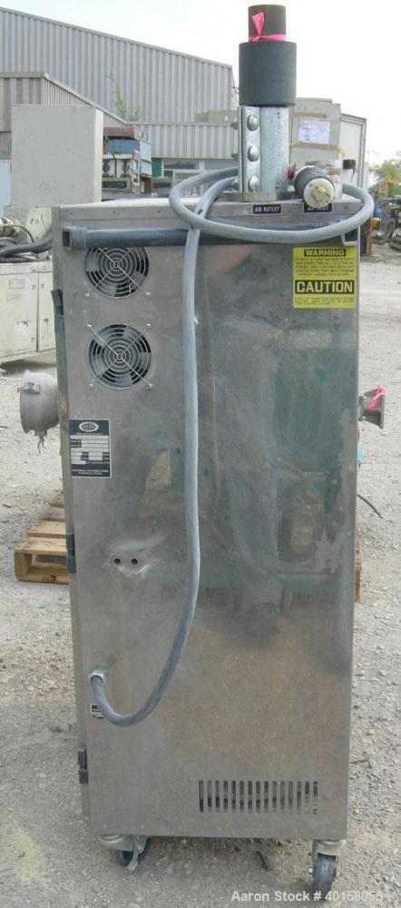 Used- Unadyn Automatic Mini Dryer, model UDC-150. Solid absorption type, dual desiccant beds. Approximate 180 to 250 deg F t...