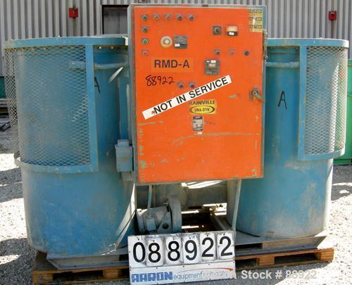 USED- Unadyn Dehumidifier Dryer, Model DHD-10060. Dual desiccant beds. 2500 process CFM. 3/60/460 Volt. Includes a control p...