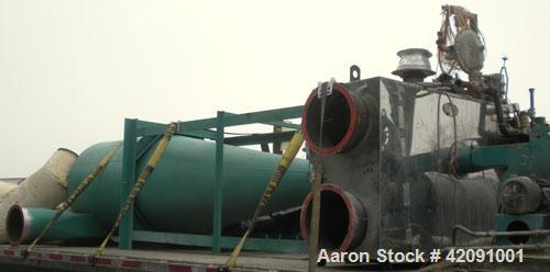 Used- Carbon Steel Unadyn Gas Fired Solid Bed Dehumifying Desiccant Dryer System