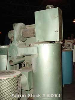Used- Una-Dyn Dehumidifying Dryer, Model DHD-20. Dual canister, rated 660 cfm. Total cycle time 4 hours. Desiccant each bed,...