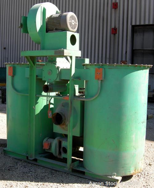 USED- Unadyn Dehumidifier Dryer, Model DHD-50. Dual desiccant beds, 1250 process CFM, 3/60/460 Volt. Includes a control pane...