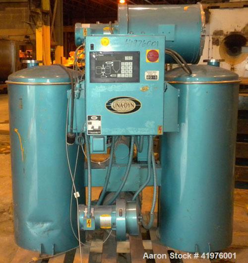 Used- Una-Dyn Dehumidifying Hopper Dryer, model DHD-6.
