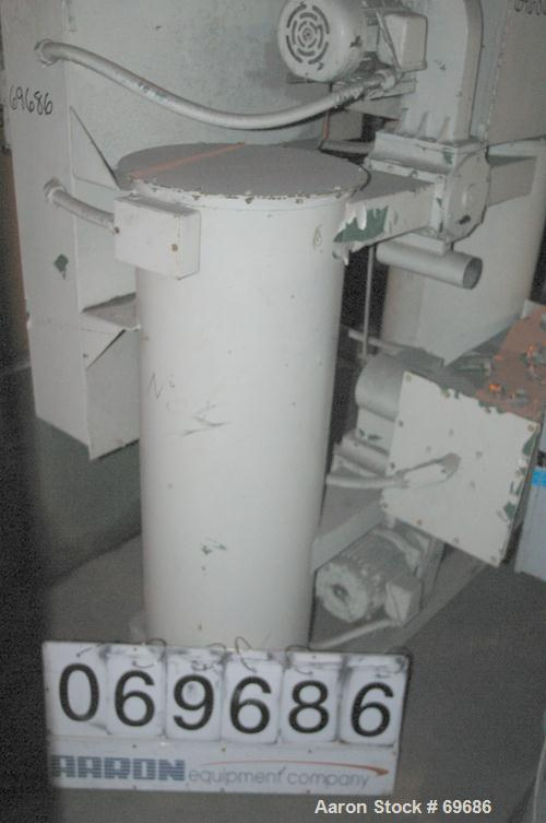 USED: Unadyn air dryer, model DHD6. Dual canister, rated 160-185 cfm. Total cycle time 4 hours. 3/60/460 volt, 26.05 amp, 21...