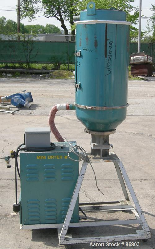 USED: Una Dyn Dry Spot desiccant dryer, model DS. Two cycles, singlebed, 65 minute cycle. 1/60/460 volt, 11.3 amp, 5.3 kva. ...