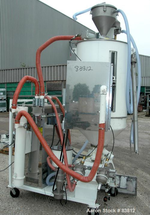 USED: Una-Dyn automatic mini dryer, model UDC100. Dual desiccant beds. Approximately 180 to 250 degrees F. temperature range...