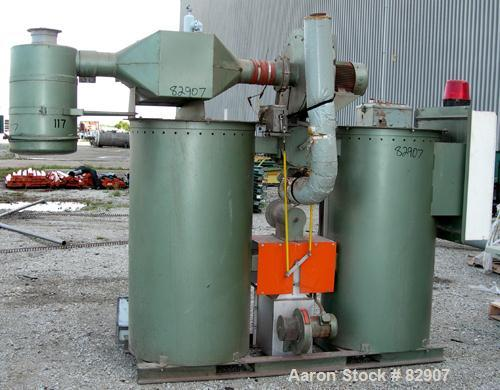 USED: Walton Stout twin bed desiccant dryer, model WSD-600. Rated approximately 600 pounds an hour. 3/60/480 volt, 62 kva, 7...