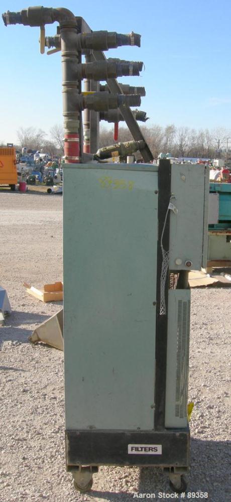 Used- AEC Whitlock Desiccant Dryer, Model DB-100. 50 cfm, 3/60/460 volt, 16 amp, 12.7 kva. Mounted on casters.