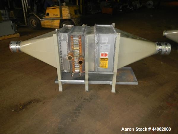 Used- Conair Model CR1000 Crystallizer rated at 1000 lbs per hour.  Includes approximately 3500 lb agitated hopper, operator...