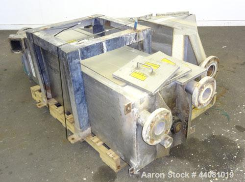 Used- Stainless Steel Carter Day Spin-Away Spin Dryer, Model CWM2