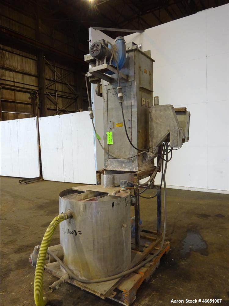 "Used- Day Spin Dryer, Model DBL2. Approximate 11"" diameter x 41"" long chamber, driven by a 2 hp, 208-230-460 volt/1725 rpm m..."