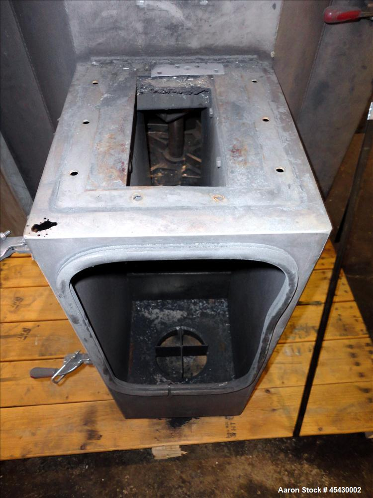 Used- Gala Industries Spin Dryer, Model 3016 BF-RD, 304 Stainless Steel. Approximate drying capacity based on pellets 14,000...