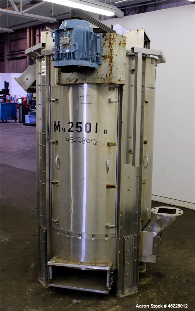 Used- Simon & Barron Spin Dryer, 304 Stainless Steel.
