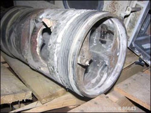 Used- Cincinnati Milacron 55mm Twin Screw Barrel, Model CM55