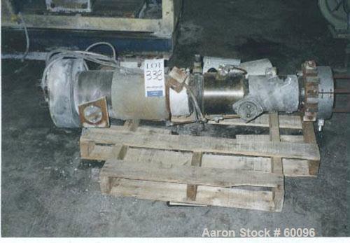 """Used- Cincinnati Milacron 2.1"""" conical cm55 barrel."""