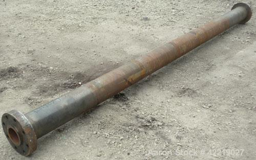 "Used- Single Screw Non-Vented Barrel Only, 4-1/2"" diameter x 145"" long, approximate 32 to 1 L/D ratio."