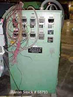 USED: Extruder control panel. Single phase, 5 heat/cool zones, 4 heatonly zones, DC motor interface, SSR controls, approx 5 ...