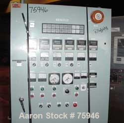 USED: Extruder control panel, (4) barrel zones, (2) die zones. RKC model REXF9 controllers. Last used on an extruder with wa...