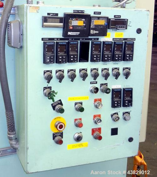 Used- Extruder Temperature Control & Drive Panel