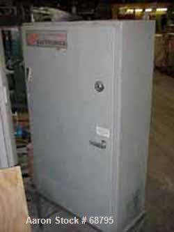 USED: Safetronics AC drive panel. 75 hp AC inverter, no operators.