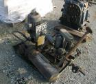 Used- Gearbox Lube System. Approximate 7.5 HP pump, skid mounted. Includes a heat exchanger.