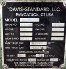 Used- Davis Standard Model 165mm Gearbox. HP Capacity 526, gear ratio 17.21 to 1. SO# 82584, serial# BI-531, built 2006.