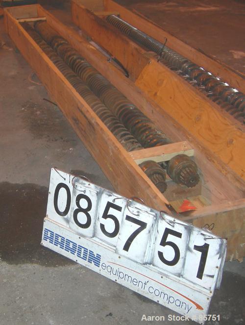 Used- Battenfeld B130 Twin Screws.