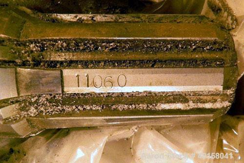 Used- (1) Set of 2 Cincinnati 80mm conical twin screws