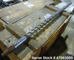 "Used- Davis Standard 2.5"" Diameter Extruder Screw."