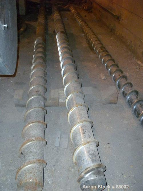 """Used- 5"""" Single Screw for Extruder,"""