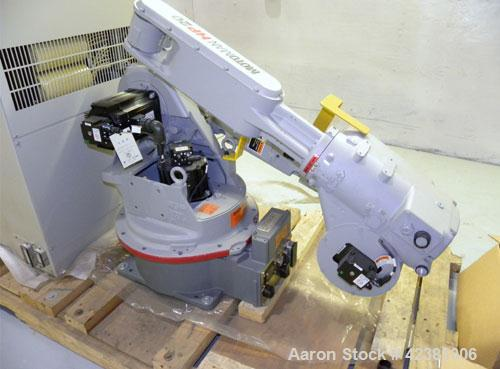 Used- Motoman Versitle High-Speed Industrial Robot, Model HP20-A0. (6) Controlled axis, payload 20 kg, V-reach 3063mm, H-rea...