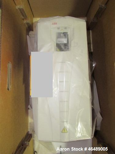 Used- ABB Model ACS500-U1 Control Drive. 1-200hp, UL type1/Nema1/1P21. No motor included.