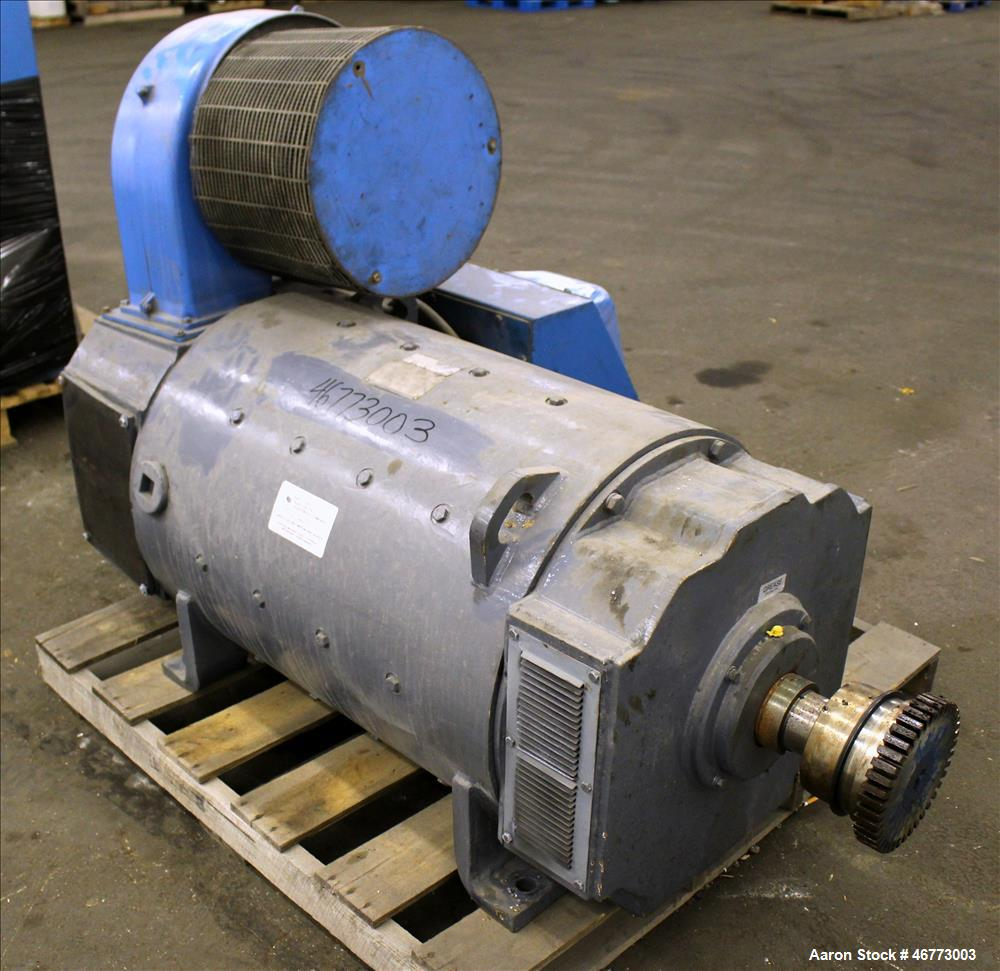 Used general electric 400hp dc motor 3 500 volt for General electric dc motors