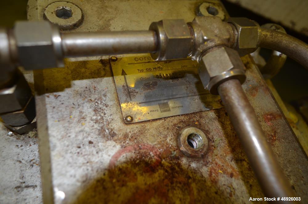 Used- JSW Japan Steel Works Rubber Sheet Line