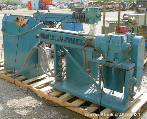 "Used- Akron 1 3/4"" single screw extruder, model M-PAK175, approximately 24 to 1 L/D ratio. Electrically heated, air cooled 3..."