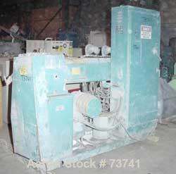 "USED: Akron 2-1/2"" single screw extruder, model PAK250. 24:1 L/D ratio. 4 zone barrel, electrically heated, air/water cooled..."