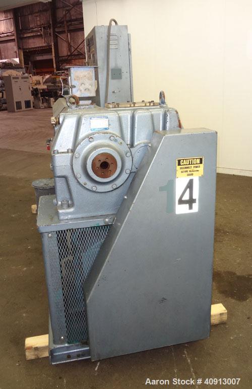 "Used- Akron 3 1/2"" Single Screw Extruder, Model PAK350"