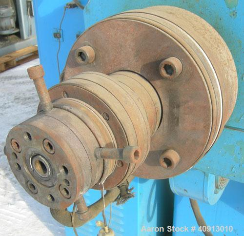 """Used- Akron 3 1/2"""" Single Screw Extruder, model PAK350, approximate 24:1 L/D ratio. Electrically heated, air cooled 5 zone n..."""