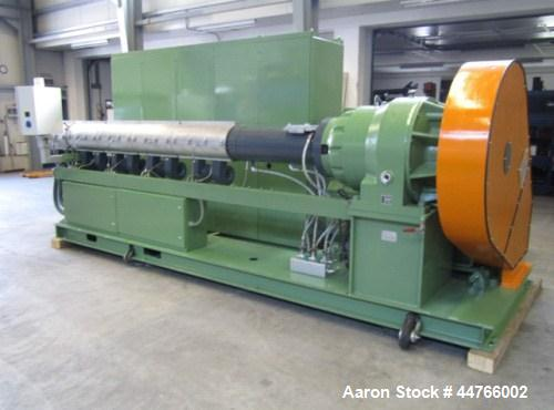 Used-Battenfeld 1-120-30BR Single Screw Extruder for PP and PE.  Screw diameter 120 mm.  30 L:D.  Maximum output 600-900 kil...